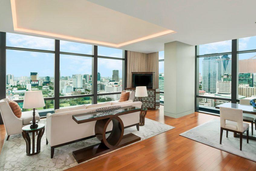 The St. Regis Bangkok Luxury Hotel - Bangkok, Thailand - Astor Suite Living Area