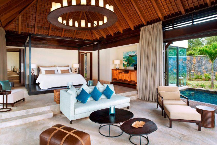 The St. Regis Mauritius Luxury Resort - Mauritius - The St. Regis Villa Master Bedroom
