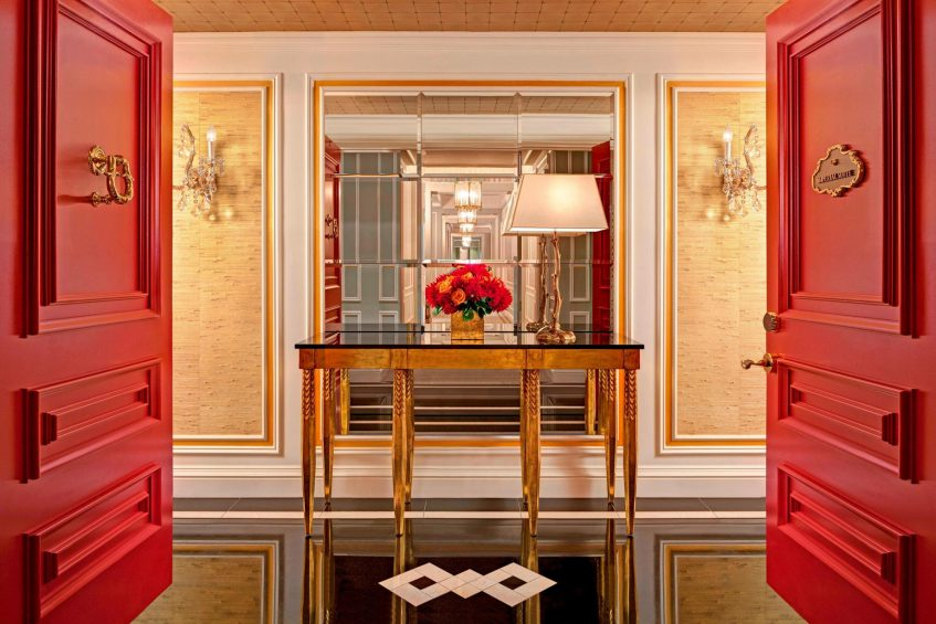 The St. Regis New York Luxury Hotel - New York, NY, USA - Imperial Suite Entrance