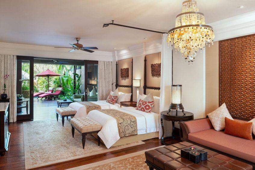 The St. Regis Bali Luxury Resort - Bali, Indonesia - St.Regis Pool Suite Twin Bedroom