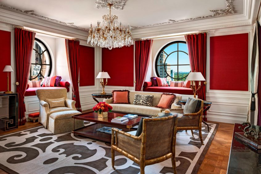 The St. Regis New York Luxury Hotel - New York, NY, USA - Imperial Suite Living Area
