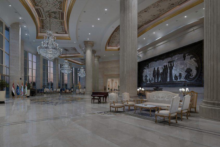 The St. Regis Almasa Luxury Hotel - Cairo, Egypt - Convention Center Foyer