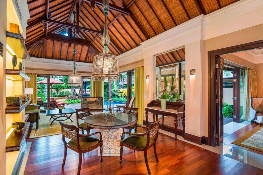 The St. Regis Bali Luxury Resort - Bali, Indonesia - Gardenia Villa Living Room