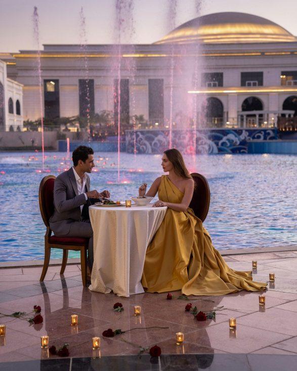 The St. Regis Almasa Luxury Hotel - Cairo, Egypt - Poolside Dining