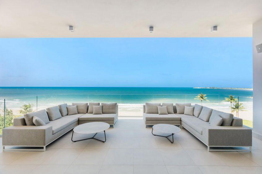 The St. Regis Bahia Beach Luxury Resort - Rio Grande, Puerto Rico - Ocean Drive Residences First Level Balcony