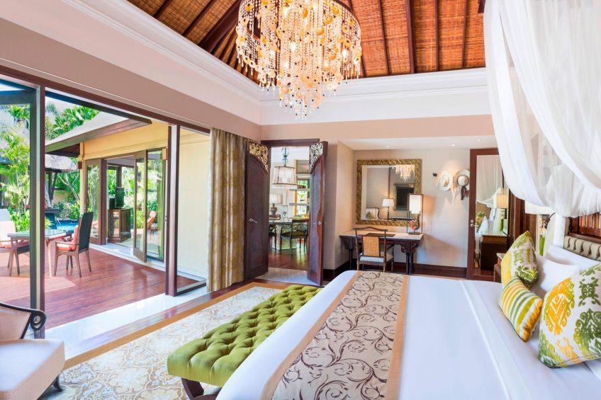 The St. Regis Bali Luxury Resort - Bali, Indonesia - Gardenia Villa Guest Bedroom