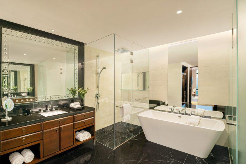 The St. Regis Bangkok Luxury Hotel - Bangkok, Thailand - Grand Astor Suite Bathroom