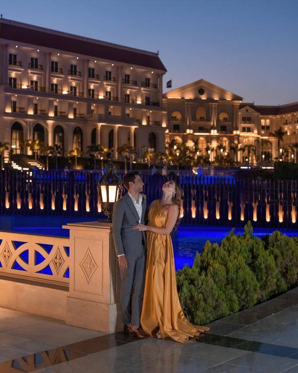The St. Regis Almasa Luxury Hotel - Cairo, Egypt - Poolside Romantic Interlude