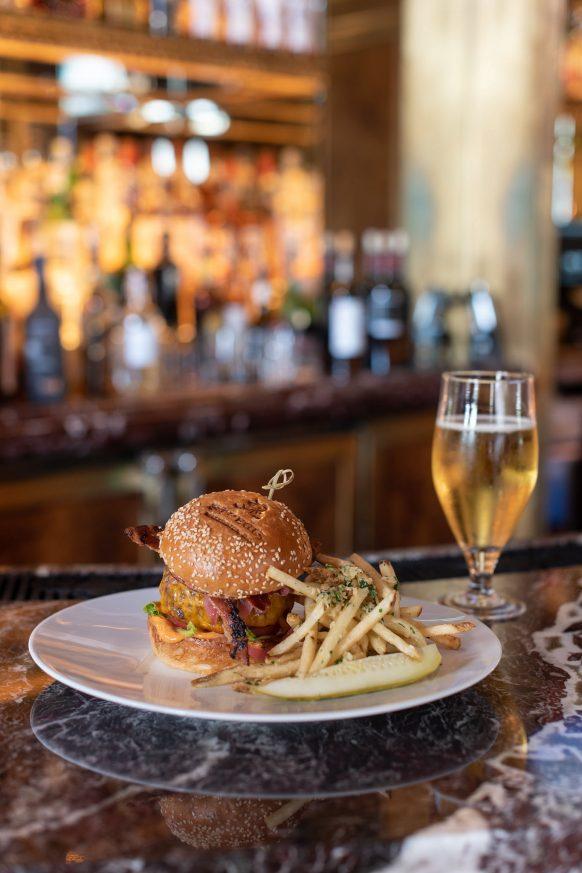 The St. Regis Washington D.C. Luxury Hotel - Washington, DC, USA - St. Regis Bar Burger and Fries