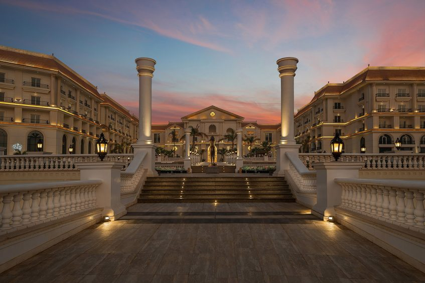 The St. Regis Almasa Luxury Hotel - Cairo, Egypt - Hotel Exterior Twilight