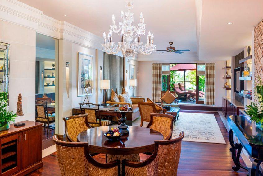 The St. Regis Bali Luxury Resort - Bali, Indonesia - Orchid Suite Living Room
