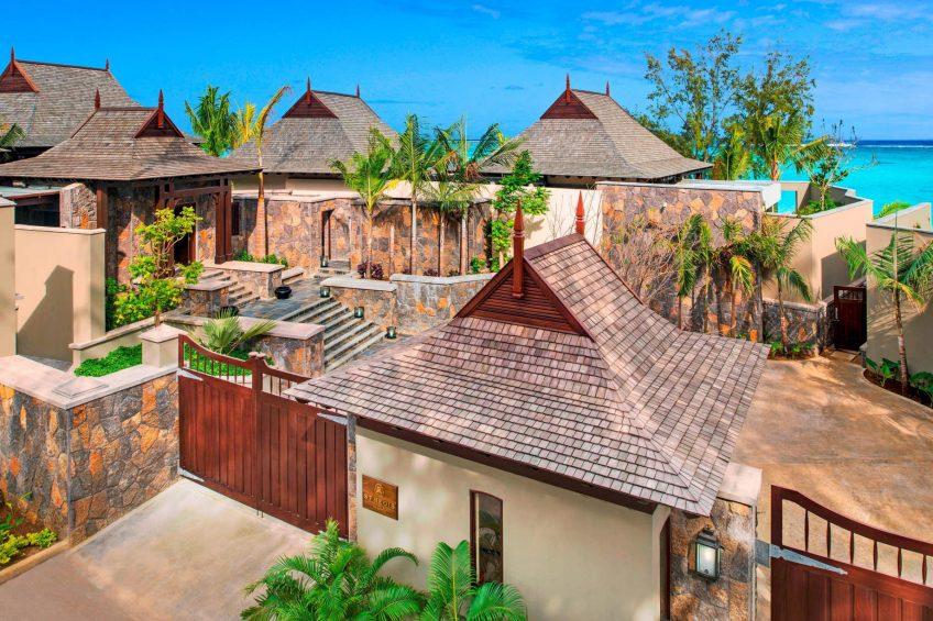 The St. Regis Mauritius Luxury Resort - Mauritius - Aerial View St. Regis Villa