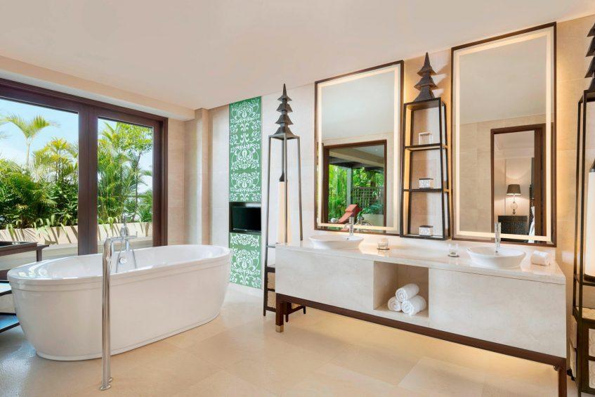 The St. Regis Bali Luxury Resort - Bali, Indonesia - Orchid Suite Bathroom