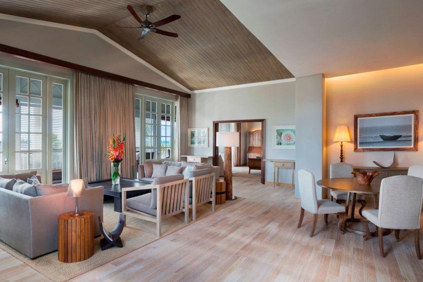 The St. Regis Mauritius Luxury Resort - Mauritius - Manor House Spa Suite Living Room