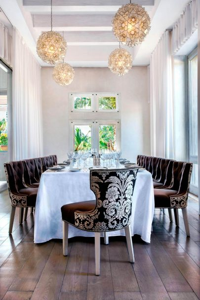 The St. Regis Punta Mita Luxury Resort - Nayarit, Mexico - Carolina Signature Restaurant Private Room