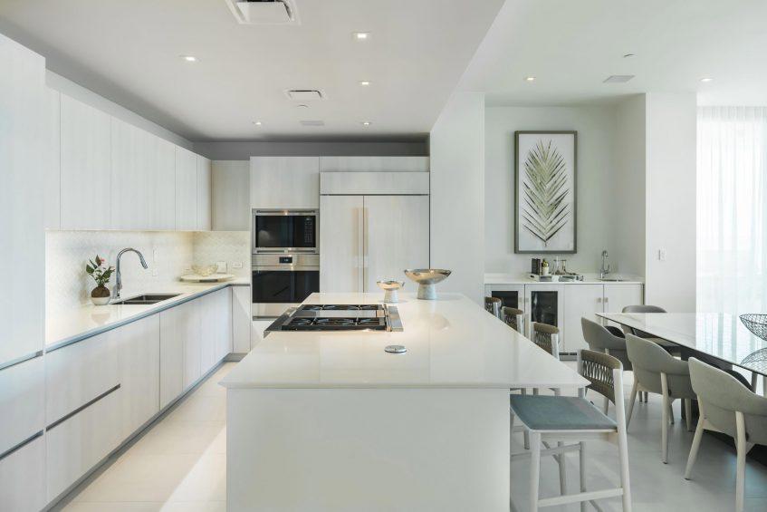 The St. Regis Bahia Beach Luxury Resort - Rio Grande, Puerto Rico - Ocean Drive Residences Kitchen