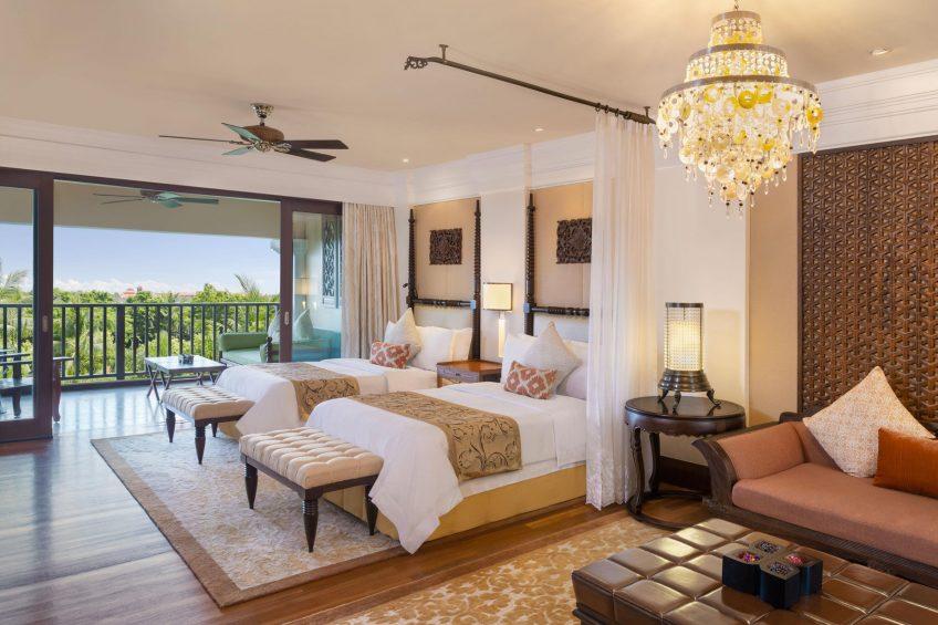 The St. Regis Bali Luxury Resort - Bali, Indonesia - St.Regis Garden View Suite Twin Bedroom