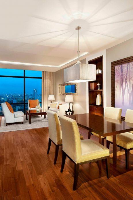 The St. Regis Bangkok Luxury Hotel - Bangkok, Thailand - St. Regis Suite Living Area