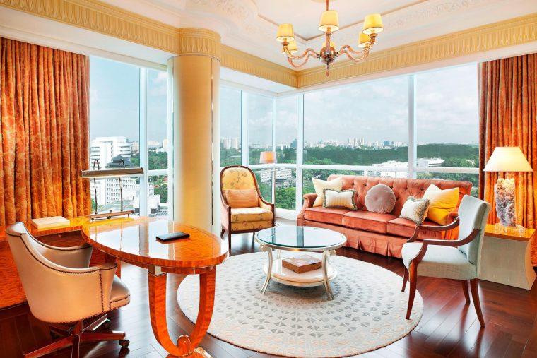The St. Regis Singapore Luxury Hotel - Singapore - Speciality Suite Living Area