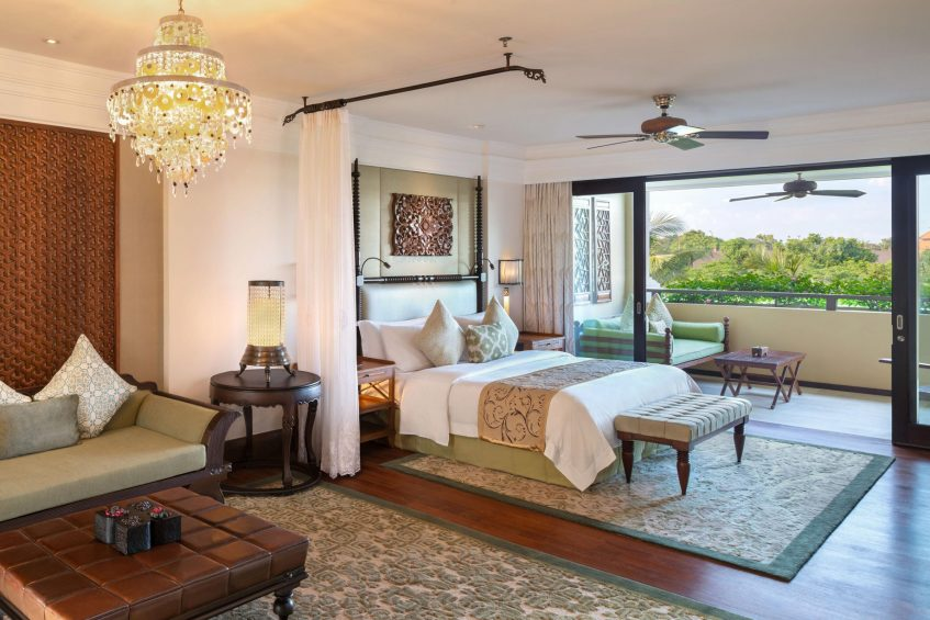 The St. Regis Bali Luxury Resort - Bali, Indonesia - St.Regis Garden View Suite King Bedroom
