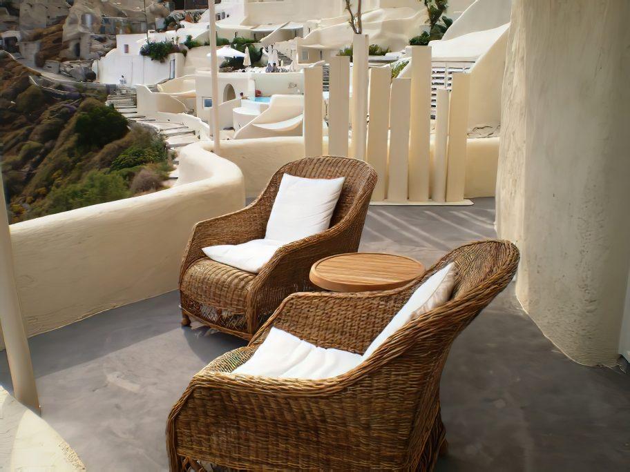 Mystique Luxury Hotel Santorini – Oia, Santorini Island, Greece - Ocean View Deck Chairs