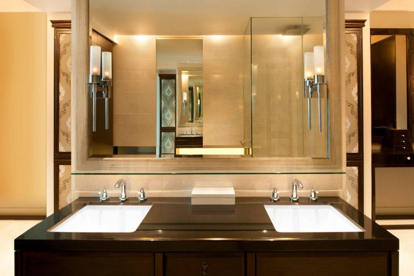 The St. Regis Bangkok Luxury Hotel - Bangkok, Thailand - Guest Bathroom Vanity
