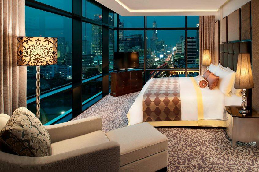 The St. Regis Bangkok Luxury Hotel - Bangkok, Thailand - Caroline Astor Suite Bedroom