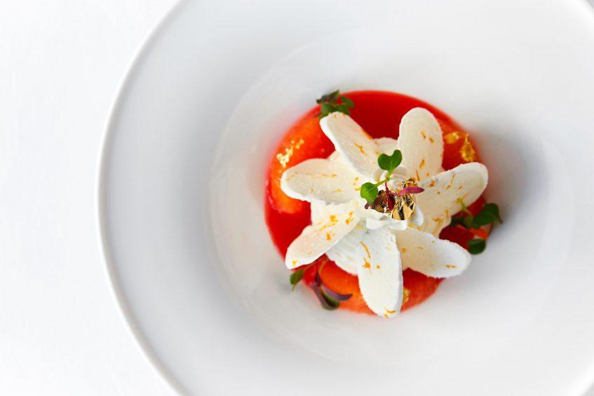 The St. Regis Washington D.C. Luxury Hotel - Washington, DC, USA - Alhambra Restaurant Strawberry & Thyme Tart