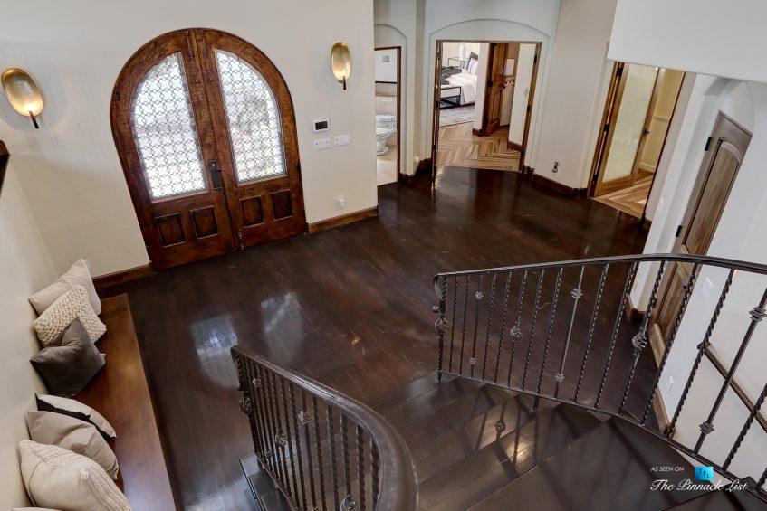 853 10th Street, Manhattan Beach, CA, USA - Main Foyer Stairs