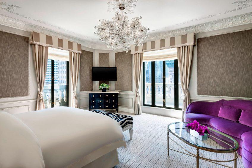 The St. Regis New York Luxury Hotel - New York, NY, USA - Presidential Suite Master Bedroom