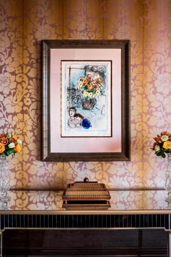 The St. Regis Singapore Luxury Hotel - Singapore - Les Renoncules by Marc Chagall