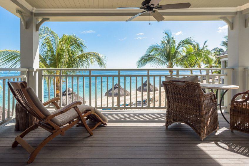 The St. Regis Mauritius Luxury Resort - Mauritius - Beachfront Balcony Junior Suite Terrace