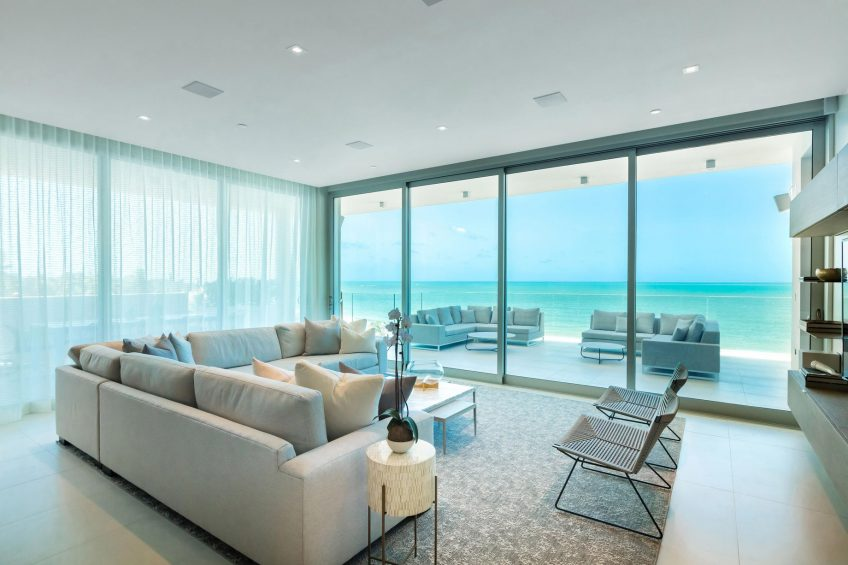 The St. Regis Bahia Beach Luxury Resort - Rio Grande, Puerto Rico - Ocean Drive Residences Ocean Front Living Room