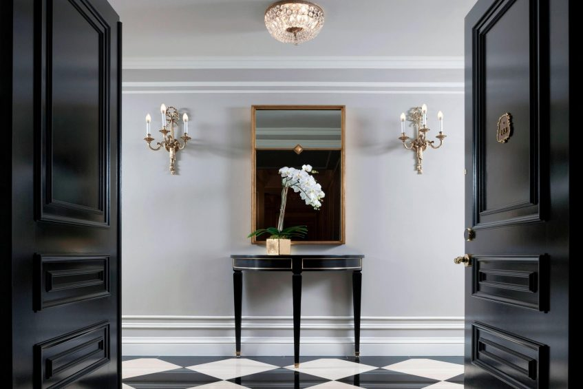 The St. Regis New York Luxury Hotel - New York, NY, USA - Grand Suite Entrance