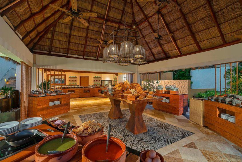 The St. Regis Punta Mita Luxury Resort - Nayarit, Mexico - Las Marietas Restaurant Buffet