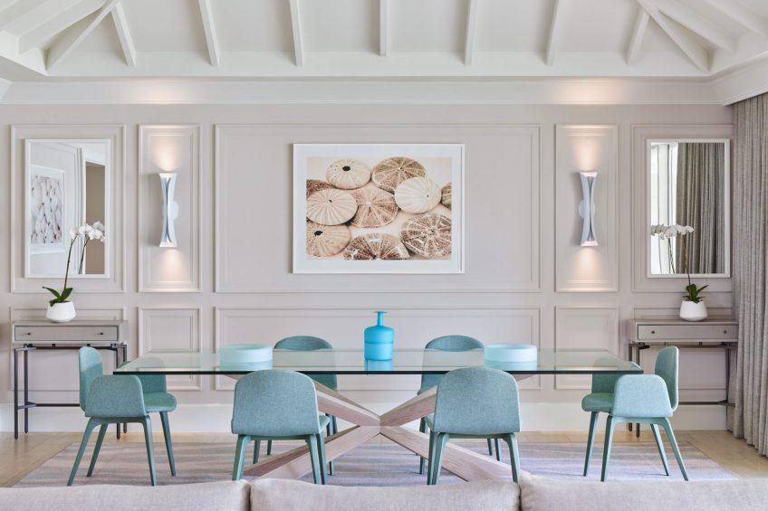 The St. Regis Bahia Beach Luxury Resort - Rio Grande, Puerto Rico - Governor's Suite Dining Room
