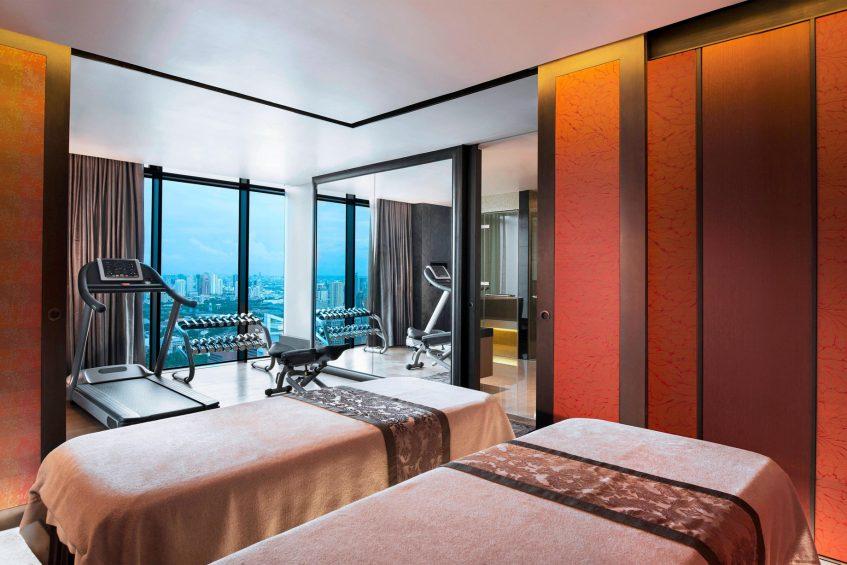 The St. Regis Bangkok Luxury Hotel - Bangkok, Thailand - Private Exercise Room & Spa