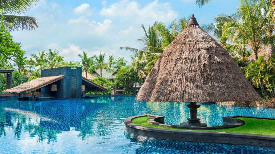 The St. Regis Bali Luxury Resort - Bali, Indonesia - Resort Lagoon View