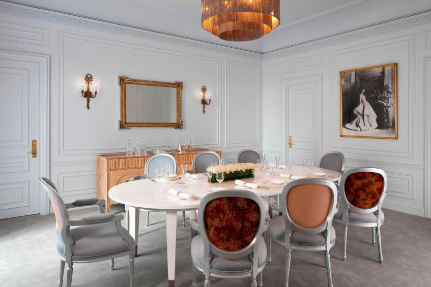 The St. Regis New York Luxury Hotel - New York, NY, USA - Dior Suite Dining Area
