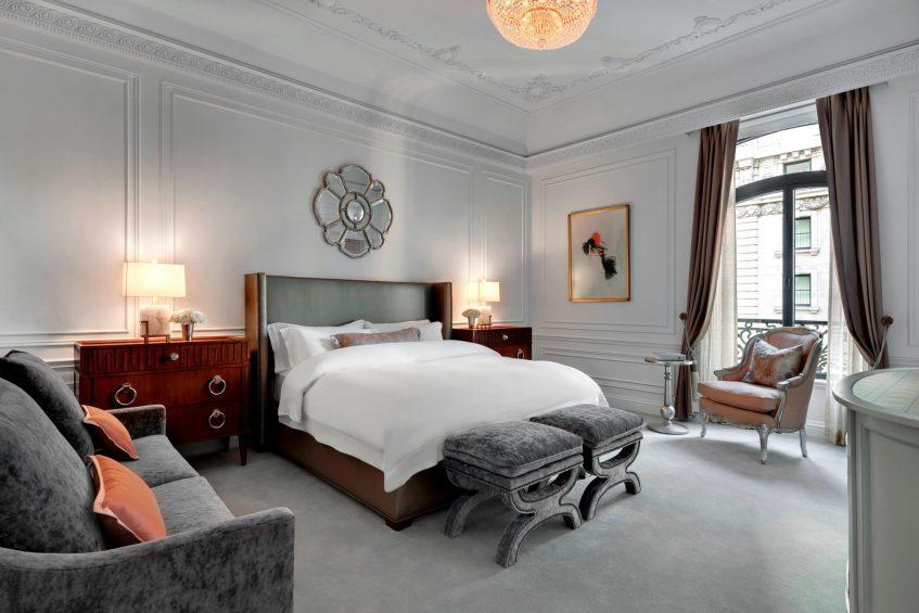 The St. Regis New York Luxury Hotel - New York, NY, USA - Dior Suite Bedroom