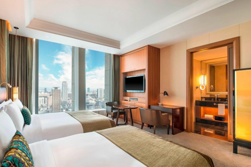 The St. Regis Osaka Luxury Hotel - Osaka, Japan - Double City View Deluxe Guest Room