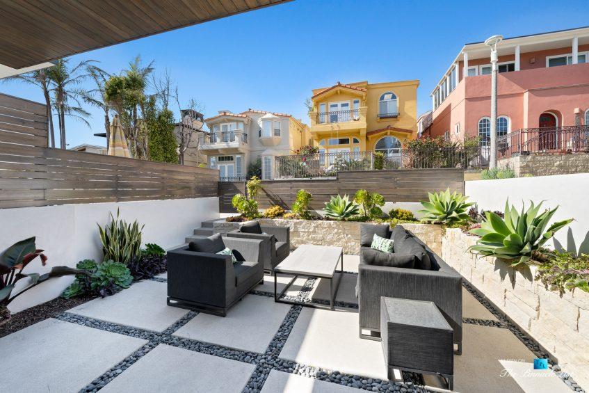 246 30th Street, Hermosa Beach, CA, USA - Lower Level Exterior Patio