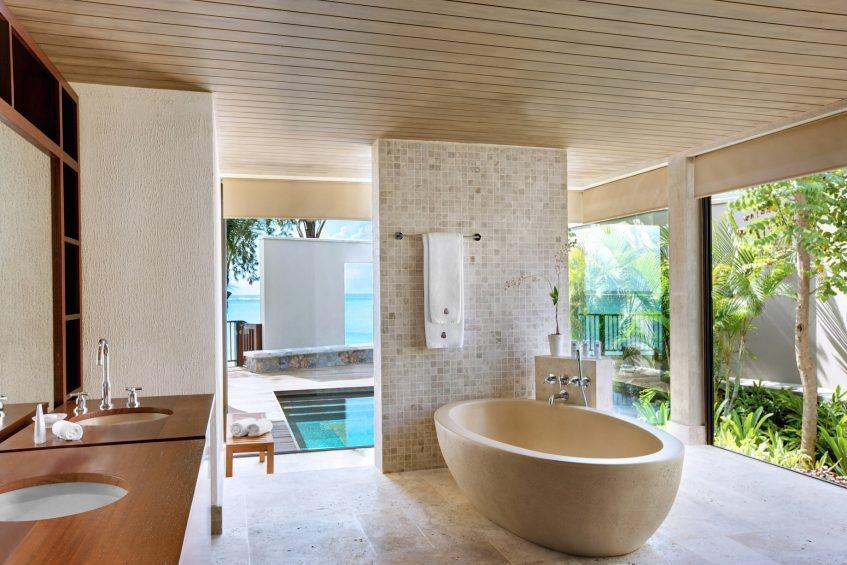 The St. Regis Mauritius Luxury Resort - Mauritius - The St. Regis Villa Bathroom