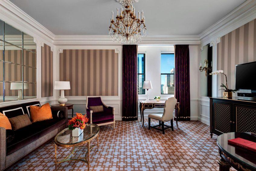 The St. Regis New York Luxury Hotel - New York, NY, USA - Madison Suite Living Area