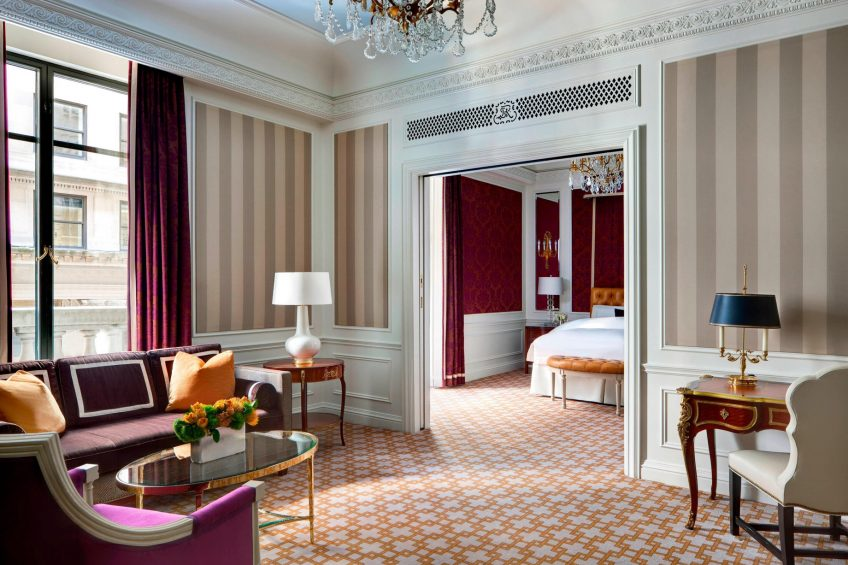 The St. Regis New York Luxury Hotel - New York, NY, USA - Deluxe Suite