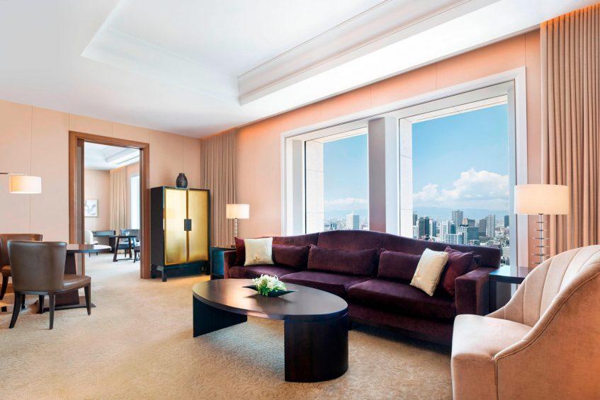 The St. Regis Osaka Luxury Hotel - Osaka, Japan - Grand Deluxe Suite Living Area