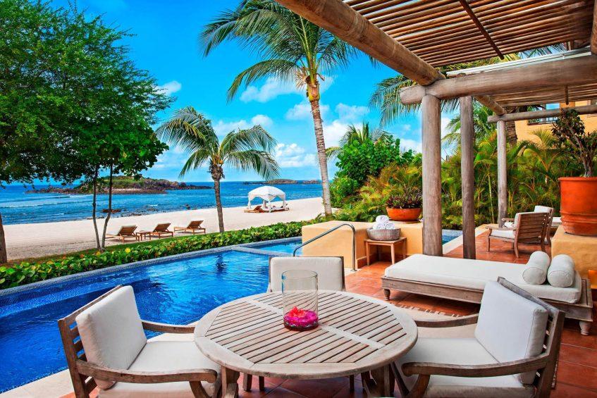 The St. Regis Punta Mita Luxury Resort - Nayarit, Mexico - Villa Ocean View Beachfront Terrace
