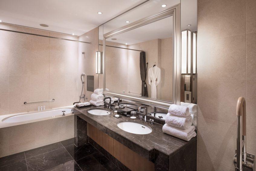 The St. Regis Osaka Luxury Hotel - Osaka, Japan - Accessible Guest Bathroom