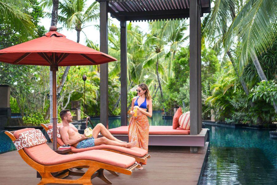 The St. Regis Bali Luxury Resort - Bali, Indonesia - Salt Water Lagoon Pool