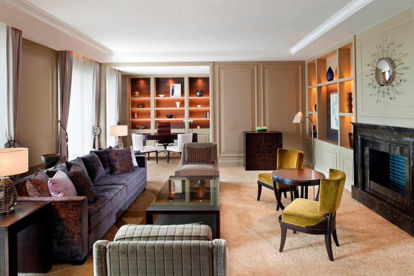 The St. Regis Osaka Luxury Hotel - Osaka, Japan - Fuji Suite Living Area